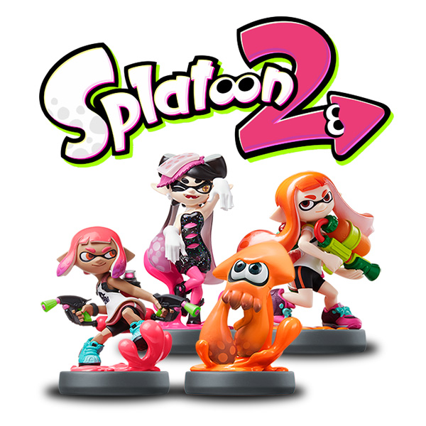 NitroTag Splatoon 2 Pack 2