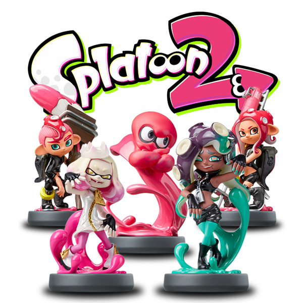 NitroTag Splatoon 2 Pack 4