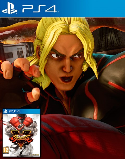 Street Fighter V Ken Moves and Challenges Prime Macro