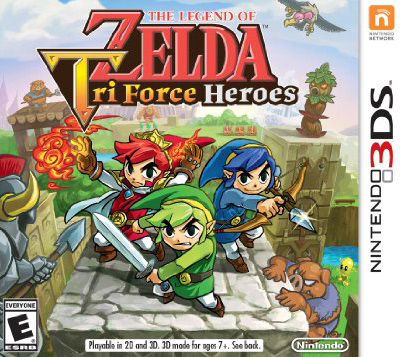 Powersaves Prime for The Legend of Zelda Tri Force Heroes (EU) EF001203