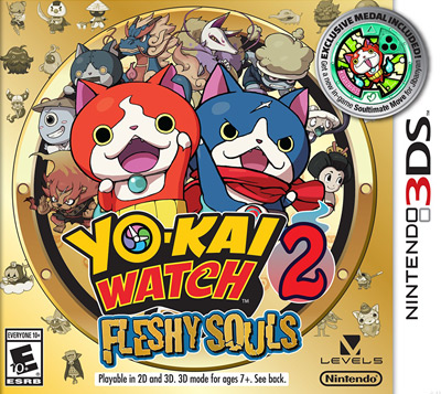 Powersaves Prime for Yo-Kai Watch 2 Fleshy Souls EU