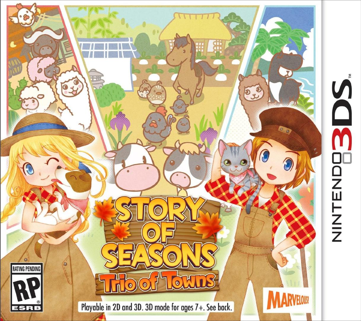 Powersaves Prime for Story of Seasons Trio of Towns