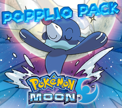 Popplio Prime Pack for Pokemon Moon (US)