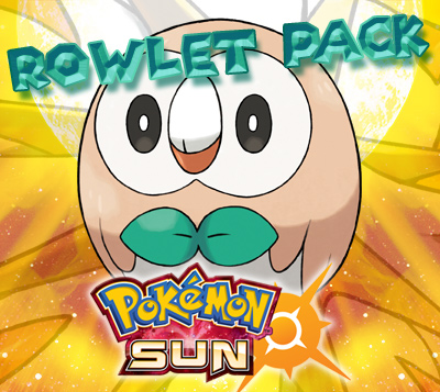 Rowlet Prime Pack for Pokemon Sun (US)