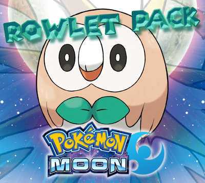 Rowlet Prime Pack for Pokemon Moon (US)