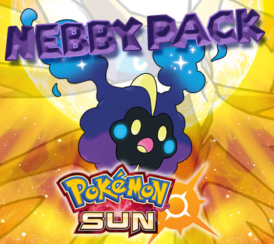 Nebby Prime Pack for Pokemon Sun (US)
